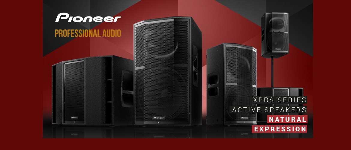 Pioneer Professional XPRS serie