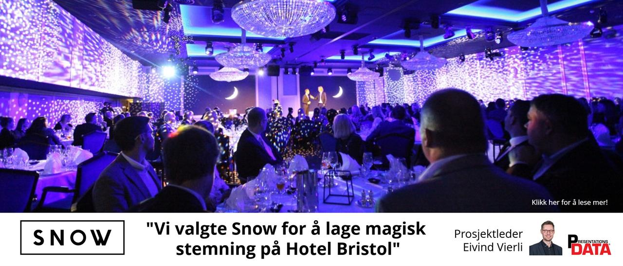 Magisk med Snow Professional Lighting